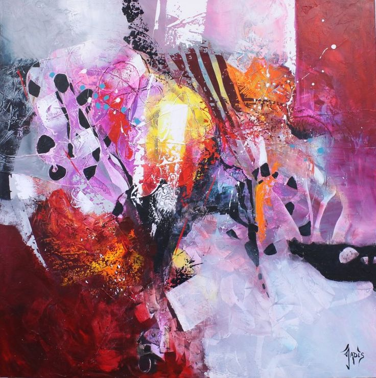 Abstract art painting abstract abstract art decor for Artiste art abstrait