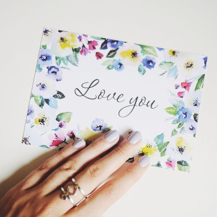 """Люблю тебя/Love you"""