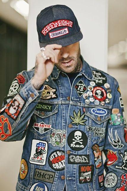 Patches em jaquetas e bonés masculino (1)