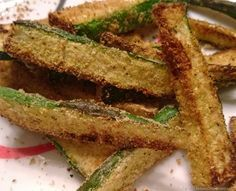 Air Fried Zucchini Fries with the Philips AirFryer