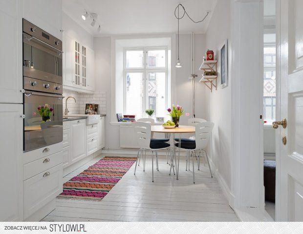 Biała kuchnia w stylu skandynawskim na Stylowi.pl