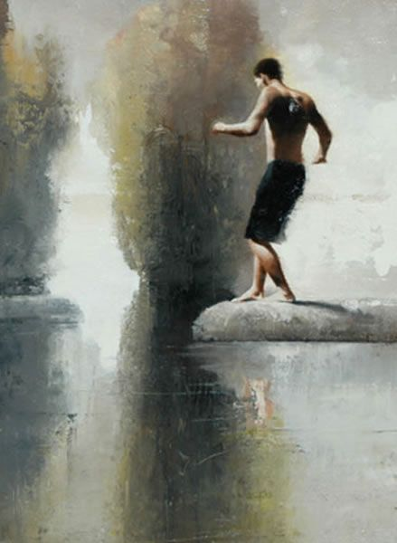 Gary Ruddell | Study for Departure
