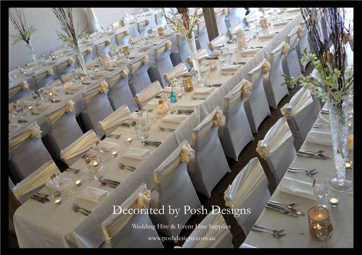 #ivorythemedwedding #ivoryweddingideas #theming available at #poshdesignsweddings - #sydneyweddings #southcoastweddings #wollongongweddings #canberraweddings #southernhighlandsweddings #campbelltownweddings #penrithweddings #bathurstweddings #illawarraweddings  All stock owned by Posh Designs Wedding & Event Supplies – lisa@poshdesigns.com.au or visit www.poshdesigns.com.au or www.facebook.com/.poshdesigns.com.au #Wedding #reception #decorations #Outdoor #ceremony decorations