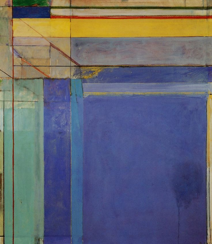 Richard Diebenkorn, Ocean Park No. 79 (1975, oil on canvas, Philadelphia Museum of Art, Pennsylvania)