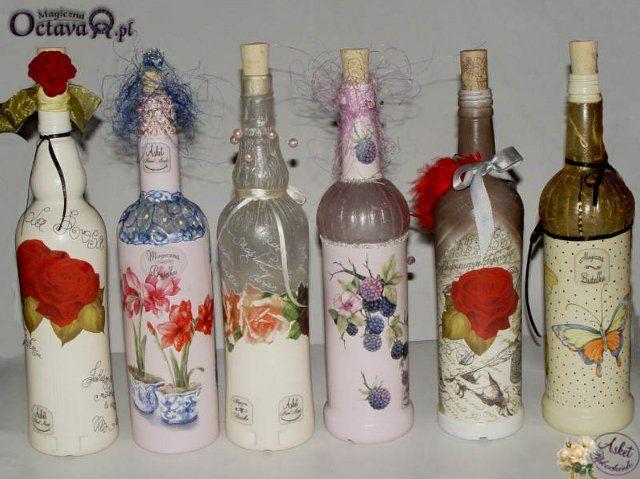 Botella decoupage | Artículos en la categoría Botella Decoupage | liudvas Blog: liveinternet - Servicio de Rusia diarios online