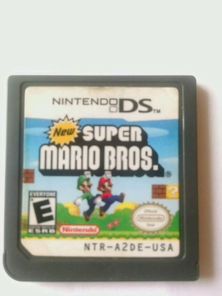Nintendo New Super Mario Bros Version Game Card 3DS NDS DSI