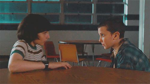 Mike Wheeler and Eleven / Stranger Things