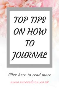 How to improve journal to improve mindset
