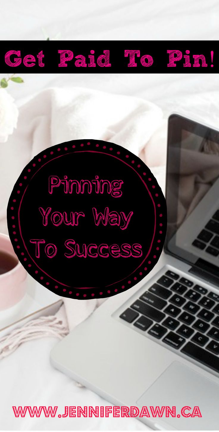 Want to know how I get paid to make pins on Pinterest and how you can too? This is the easiest and most passive way of earning income!