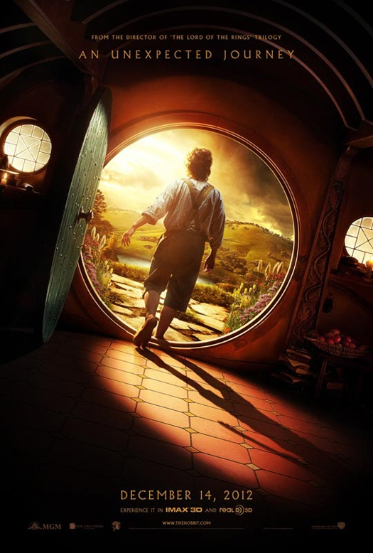 "New Poster for ""The Hobbit: An Unexpected Journey."" Opens December 14, 2012"