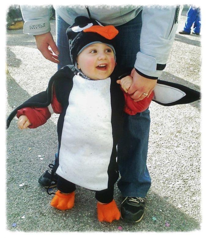Carnevale, costume da pinguino homemade #carnevale #cucito #homemade #costume #pinguino