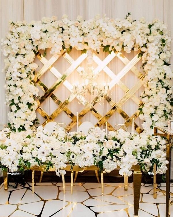 Top 20 Wedding Entrance Decoration Ideas For Your Reception Emmalovesweddings Wedding Reception Entrance Wedding Entrance Table Wedding Decor Elegant