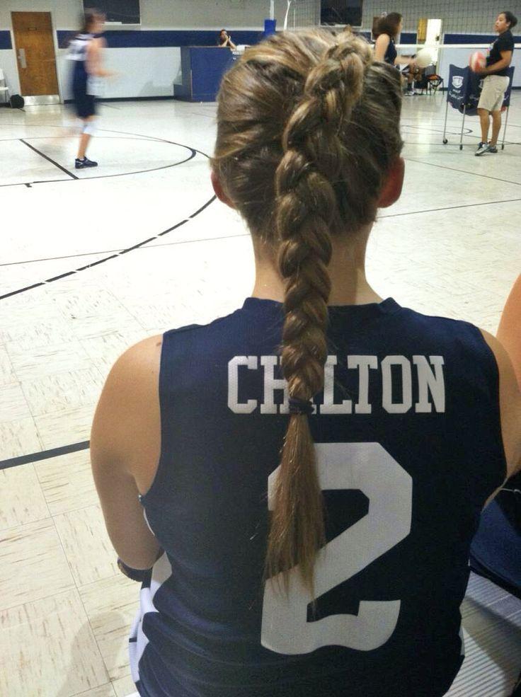 Volleyball Hair Volleyball Braid Braid Hair For Sports