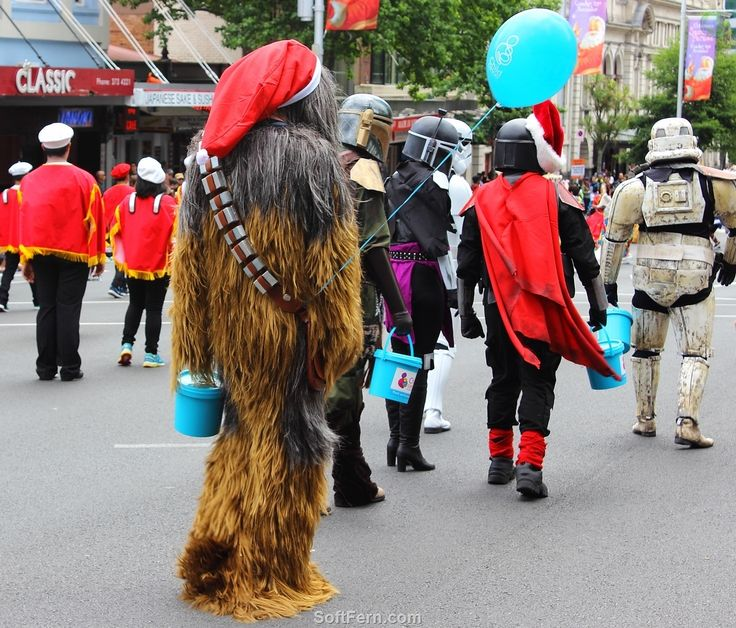 Famous Star Wars characters collecting for charity        Video. Auckland Farmers Santa Parade 2015. ... 30  PHOTOS        ... Parade starts:  1pm Sunday 27th November 2016        Originally posted:         http://softfern.com/NewsDtls.aspx?id=1115&catgry=7            #what happened in New Zealand, #Auckland Farmers Santa Parade 2015, #fun and entertainment to families, #floating Santa Elmo, #bands, #clowns, #SoftFern Auckland News, #Army band, #Auckland, #Auckland Christmas Parade