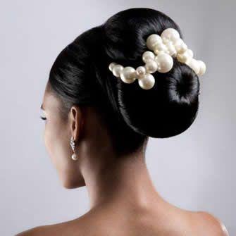 African American. Black Bride. Wedding Hair. Natural Hairstyles. Errol Douglas Bridal Hair | AFRICAN AMERICAN WEDDING HAIRSTYLES | Pinterest | Black bride, Bri…