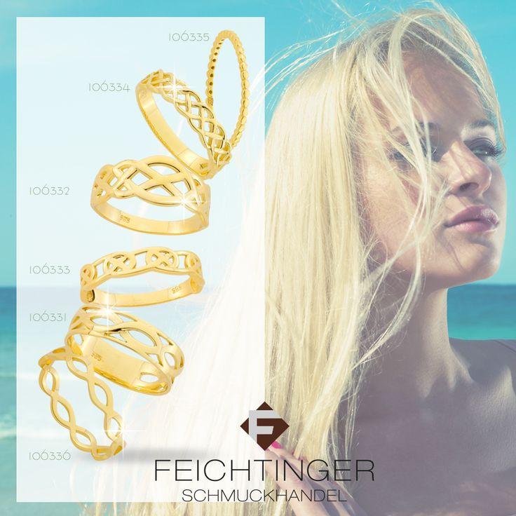 Ring, 585/- Gelbgold, geflochten  #schmuck #feichtinger #feichtingerschmuck #schmuckhandelfeichtinger #ehering #eheringe #hochzeit #hochzeitsschmuck #verlobungsringe #trauringe #madeinaustria #liebe #jewellery #wedding #ring #love #gold #weddingring #weddingrings #memoirering #zart