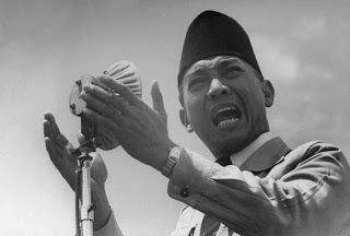 Number one President of Indonesia, He is the proclamatore of Indonesian Independence