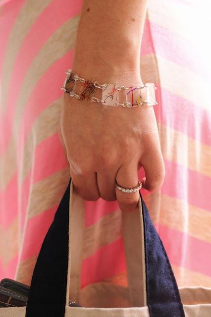 How-To: Shrinky Bracelet from #6 Plastic #shrinky