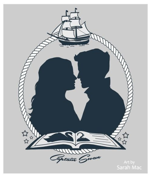 Captain Swan design for the t-shirt charity drive for sosadireland.ie. You can still get a shirt/tank/hoodie and help this great organisation (supported by Colin O'Donoghue) here for a limited time. More Once Fanart can be found here on my Tumblr or print gallery here. Digital art with some hand drawn parts.Please don't repost/crop/edit but please do support the campaign here!