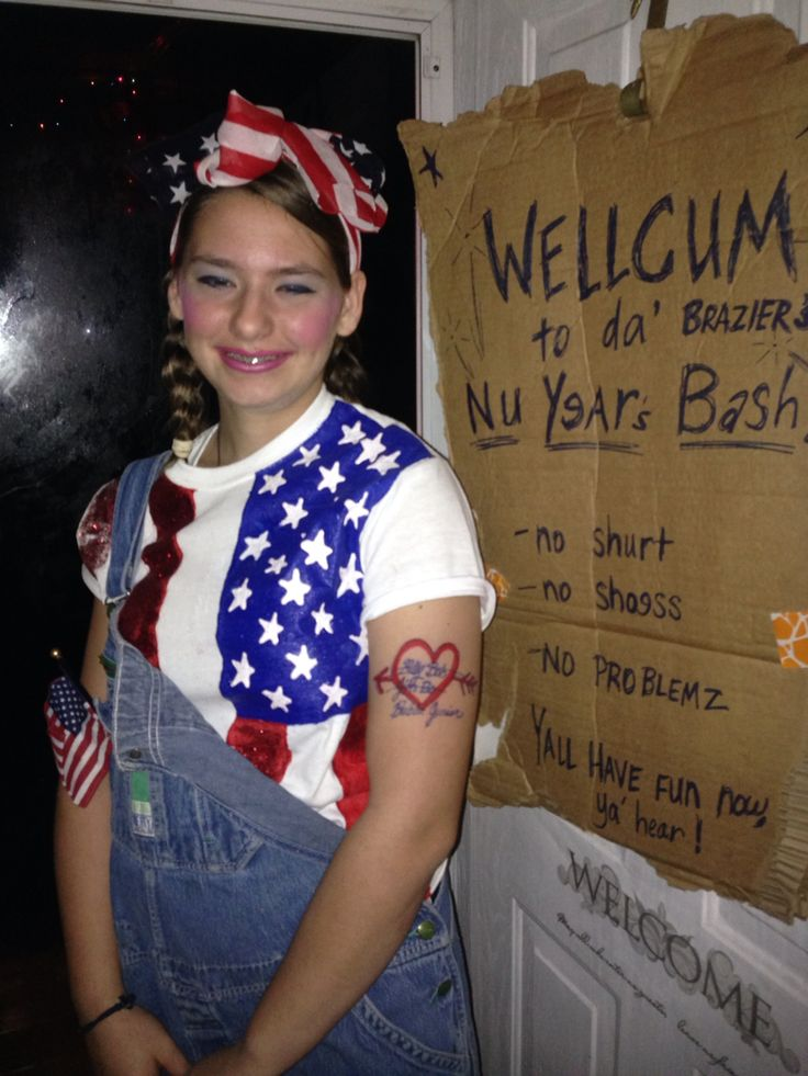 Redneck party girl 2