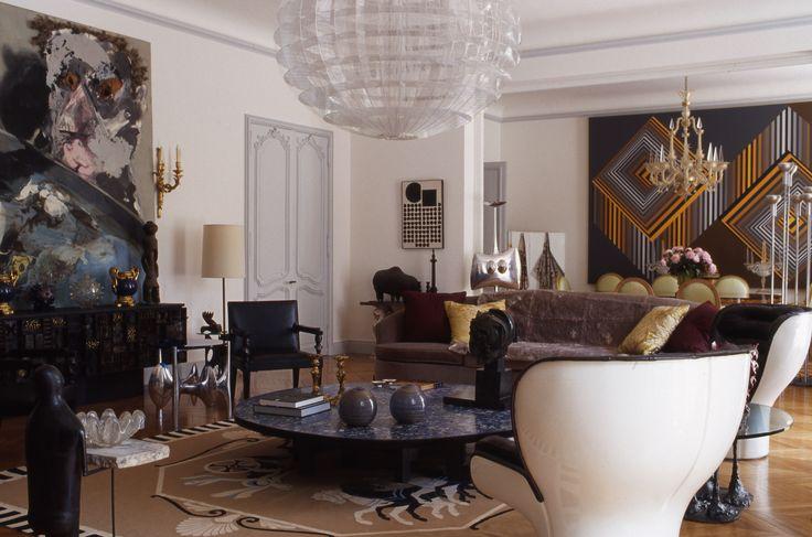 Парижская квартира антиквара Ива Гасту