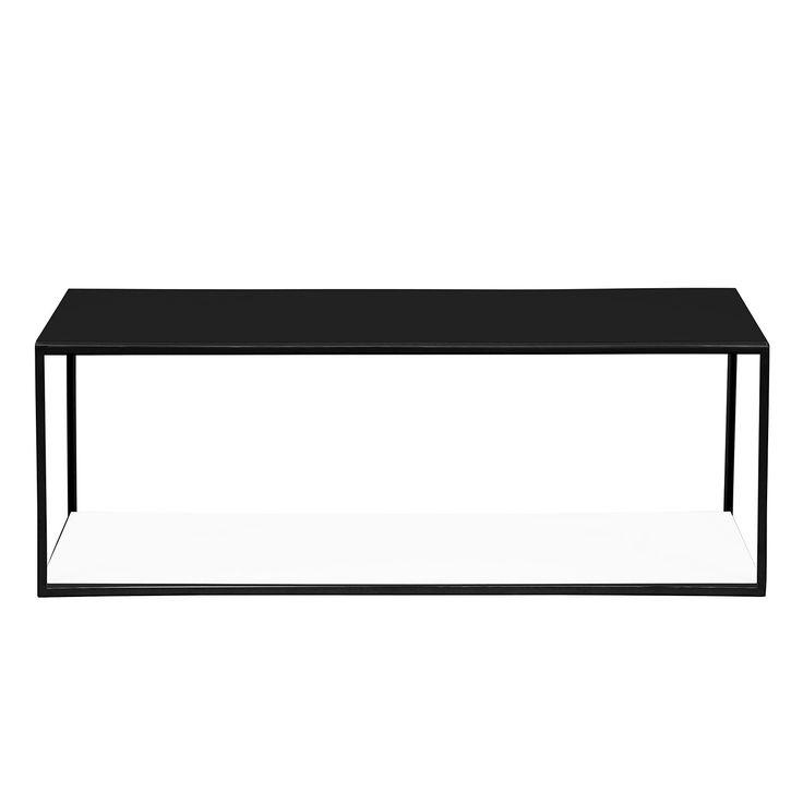 Couchtisch Piet II - Weiß / Schwarz Jetzt bestellen unter: https://moebel.ladendirekt.de/wohnzimmer/tische/couchtische/?uid=c190607b-ffee-5d74-863d-7a15e47b8665&utm_source=pinterest&utm_medium=pin&utm_campaign=boards #wohnzimmer #couchtische #tische