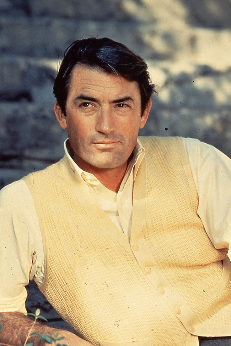 Gregory Peck, on of the most handsome men to have ever lived.