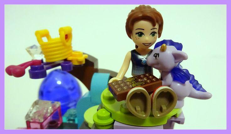 Lego Elves 41171 Emily Jones & the Baby Wind Dragon - unboxing, Speed bu...