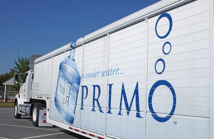 Primo Water fleet graphics