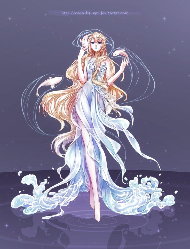 Commission: Aphrodite by omocha-san.deviantart.com on @deviantART