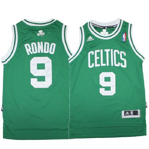 NBA Boston Celtics Rondo #9 Youth Pro Quality Athletic Jersey Top with Embroidered Logo  Numbers - http://nbasales.com/nba-boston-celtics-rondo-9-youth-pro-quality-athletic-jersey-top-with-embroidered-logo-numbers/