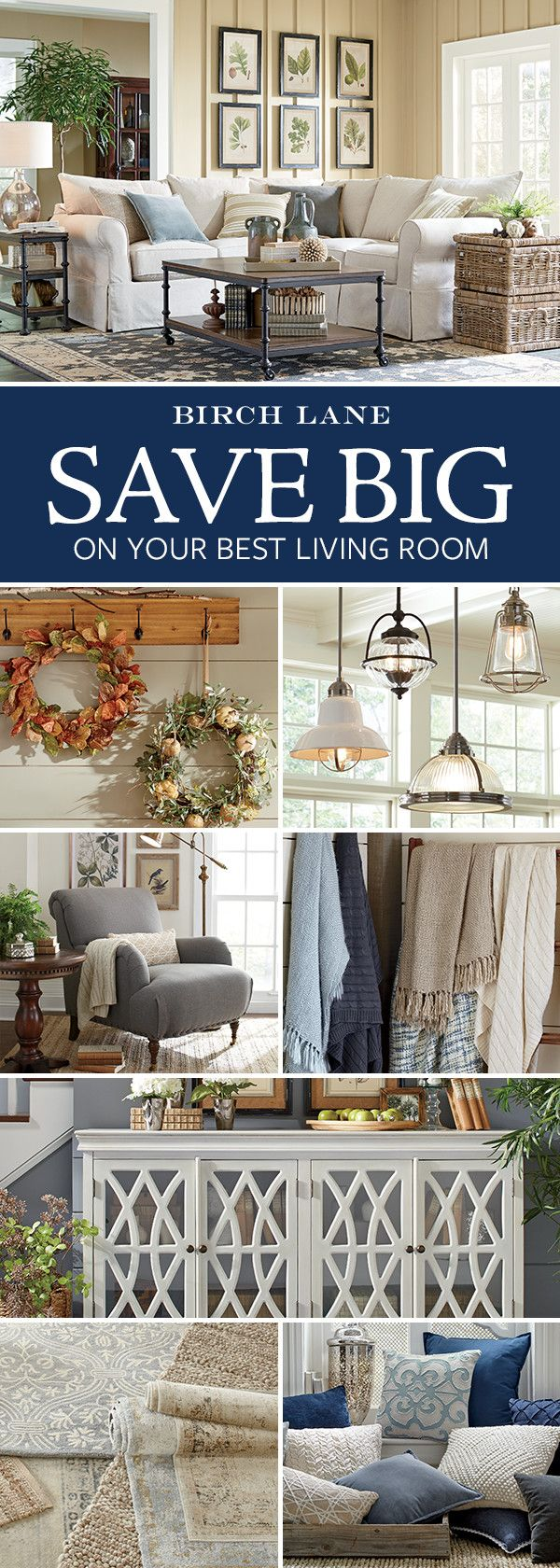 Whether you're moving in for the first time or just ready to give your space a refresh, everything you need for the living room is here – all in one place. Sofas. Sectionals. Tables. Lighting. Plus rugs (to layer) and pillows, throws, and art (for that final flourish). Sign up and learn more. Shop by Room for the living room at Birchlane.com and enjoy Free Shipping on all orders over $49.