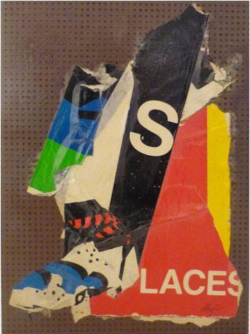 UNTITLED | villegle Arrachage et collage d'affiches sur isorel n°: villeglé-0112-004-2M5
