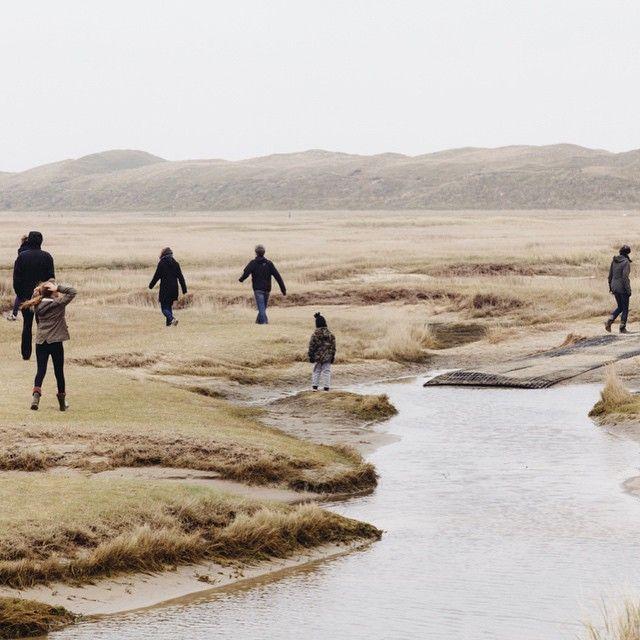 de slufter, texel | dunes of texel national park, de koog, netherlands.