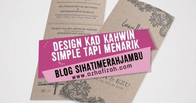Design Kad Kahwin Sendiri Why Is Everyone Talking About Design Kad Kahwin Sendiri Banner Template Design Kad Kahwin Design Banner Template