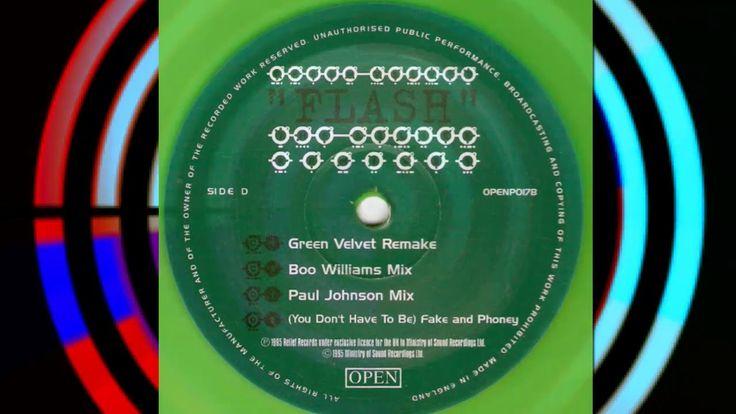 Green Velvet - Flash (Paul Johnson Mix) | 90s TECHNO - TECH HOUSE