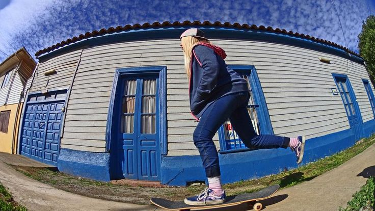 una patinada despues del surf @triniisalas  @Reef_Chile @InstanceChile @stance @StreetmachineT @Thermoskin sk8&surf
