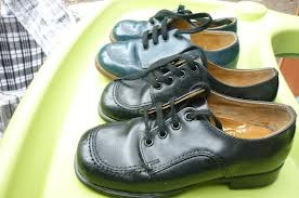 Clarks school shoes.