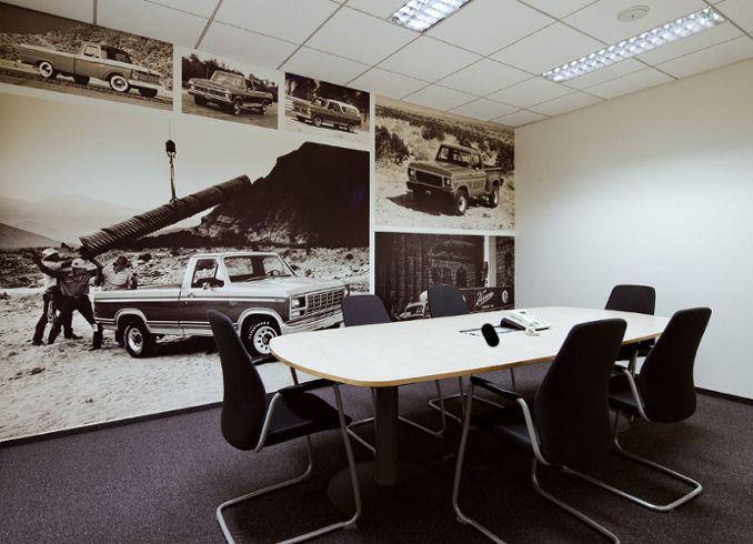 Sala konferencyjna - projekt i realizacja dla FORD POLSKA Warszawa / Conference room - design and realization for FORD POLAND Warsaw