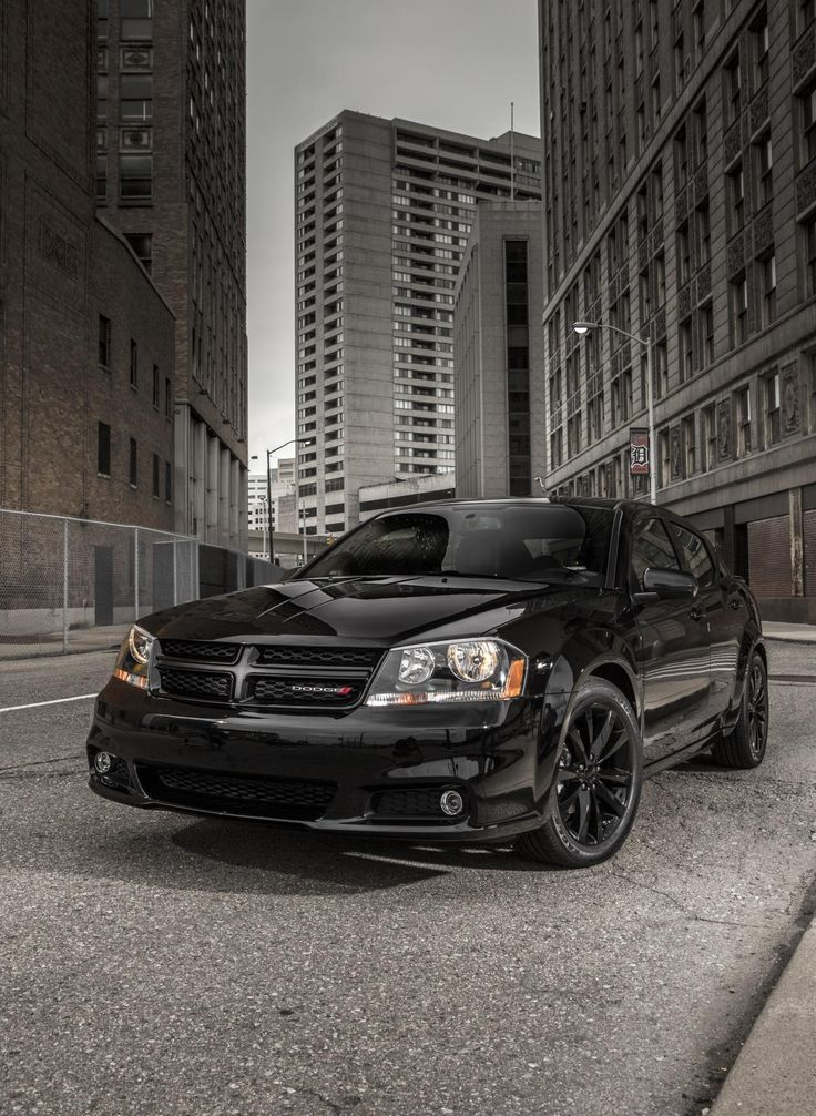 2013 Avenger Blacktop Edition Dodge