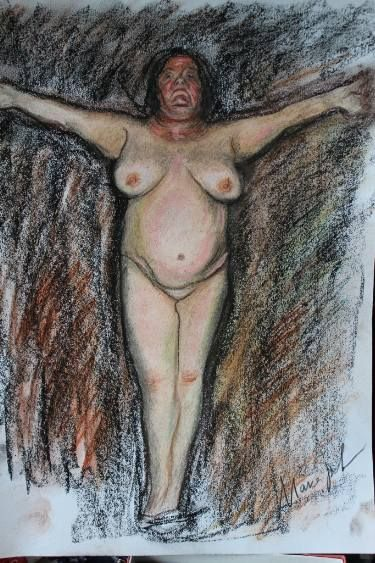Crucified Madonna, or Venus rising