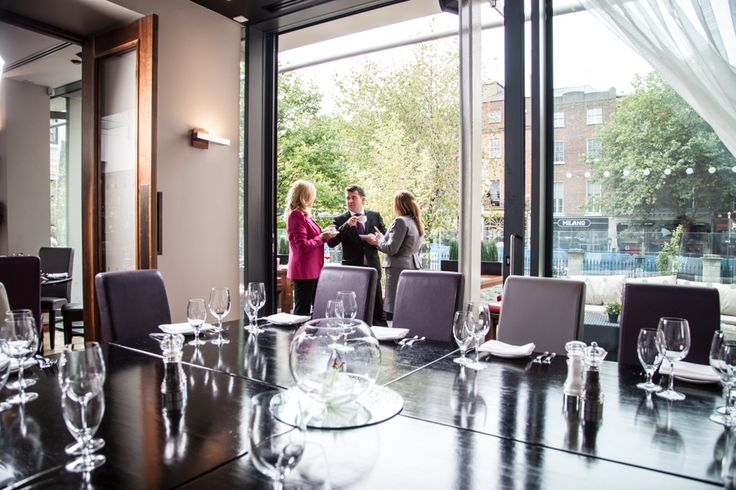 Private Dining Rooms at Fire Restaurant Dublin