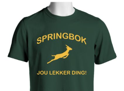 For our Springbok lovers!  You can get your shirt or hoodie here: http://www.customteesandapparel.net/campaign/springbok_tee/