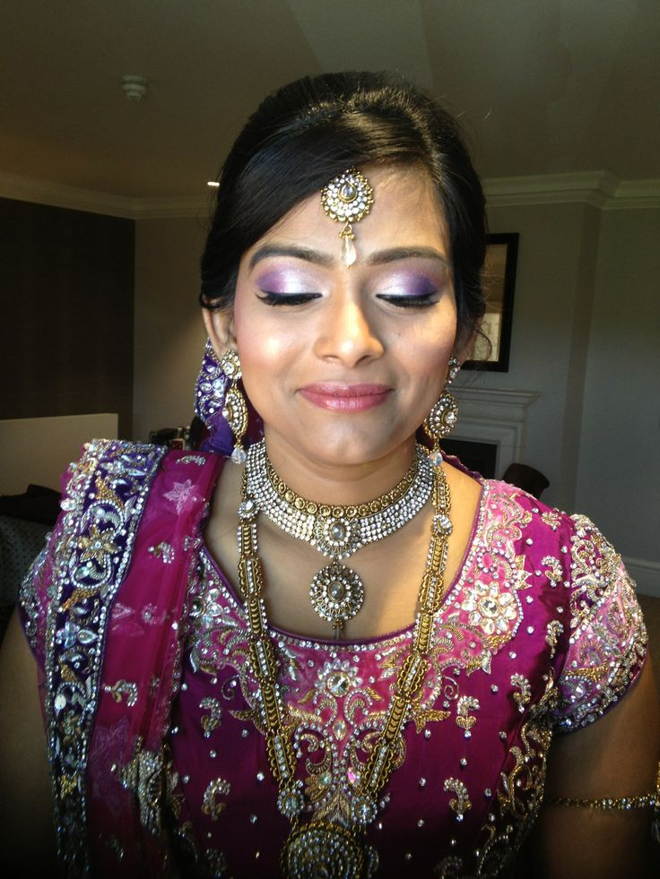 real bride  Wedding Hair and makeup by Arpita Karania Training courses available Call 07957211218