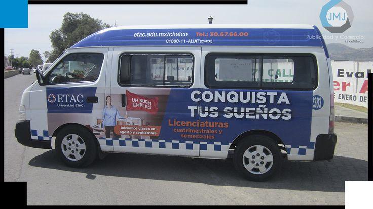 Publicidad Móvil Universidad ETAC