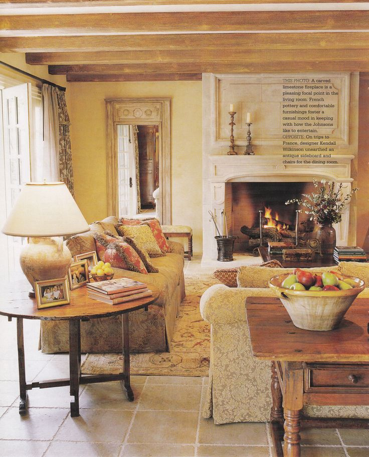 Interior Design Kendall Wilkinsin Published Country French Decorating