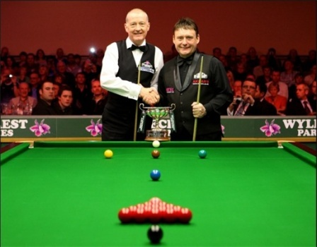 Steve Davis and Jimmy White, two of the greatest players in the history.