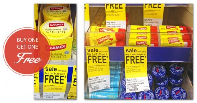Carmex Cream, Only $0.60 at Walgreens!