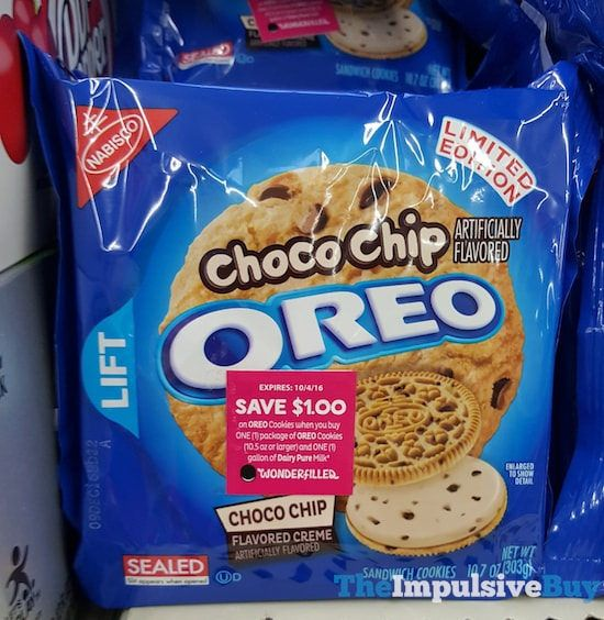 SPOTTED ON SHELVES: Limited Edition Choco Chip Oreo Cookies