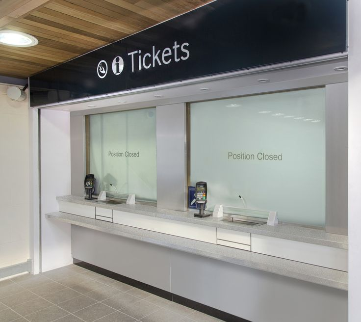 Ticket Office Pay Windows And Counters All Inclusive